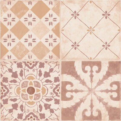 Декор (20x20) Creta Decor Brown - Creta