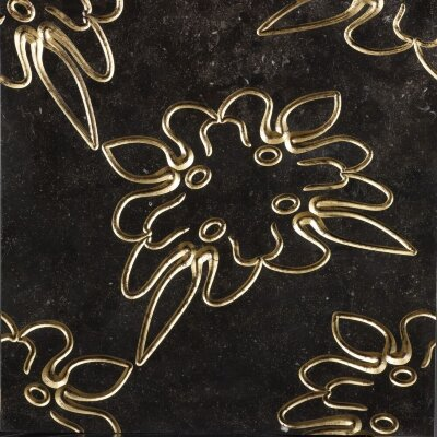 Декор (60x60) Luxury3PierreBleueGold - Luxury