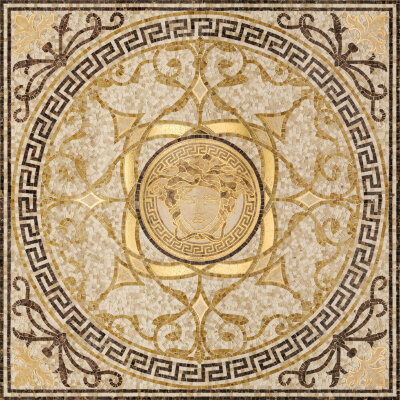 Мозаика (118x118) 68300 RosoneMos.Beige-oro - Exclusive