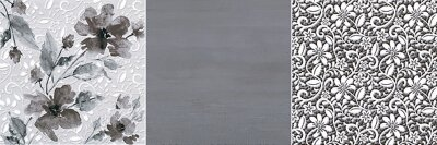 Декор (20x60) DECOR MAGICA GREY A - Pleasure