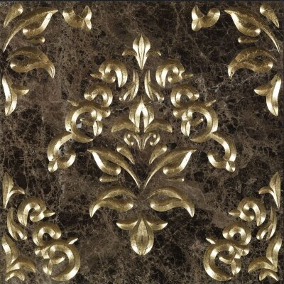 Декор (60x60) Luxury6EmperadorDarkGold - Luxury