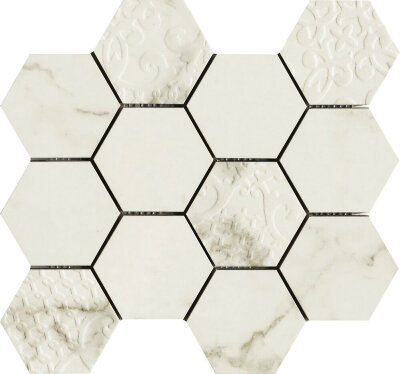 Мозаика (30x30) Muse Calacatta polished hexagon - Muse