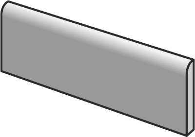 Плинтус (7.5x15) 23093 Bullnose carrara Eq-215 - Carrara