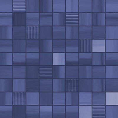 Мозаика (31.6x31.6) MOSAICO PLEASURE COBALT - Pleasure