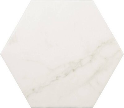 Плитка (17.5x20) 23101 Carrara hexagon Eq-3 - Carrara