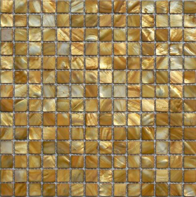 Мозаика (30.4x30.4) MOPM-GO-SQ Gold2*2Square - Shell Mosaic