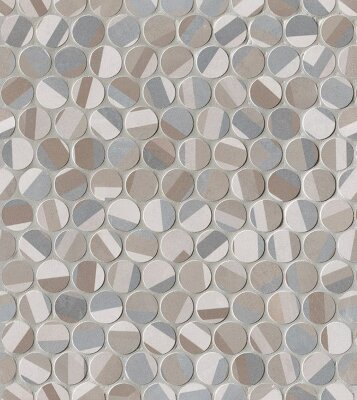 Мозаика (29.5x32.5) fNL5 ColorLineDecoRoundMosaico - Color Line