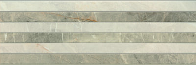 Плитка (30x90) Rectificado 9520 Gris Relieve - 9520