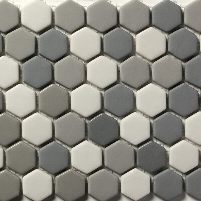 Мозаика (31x30.8) STENABL68/HEX23 Blend68 23*6Mm - Contemporanea Enameled Glass