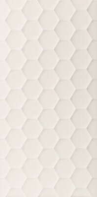 Декор (40x80) E056 4D.HEXAGON WHITE DEK - 4D