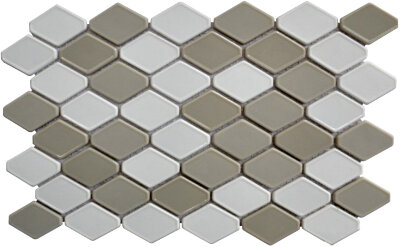Мозаика (32.3x29.1) STENABL110 HEX3548 R - Contemporanea Enameled Glass