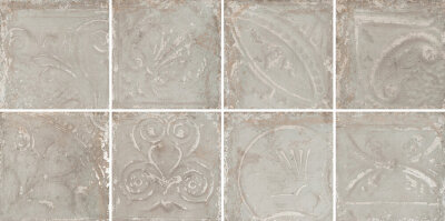 Декор (30x30) Patina Ash Grey in Relief - Tin Tiles