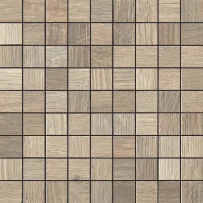 Мозаика (30x30) 6551 mosaico 3x3 OAK - Wood Side
