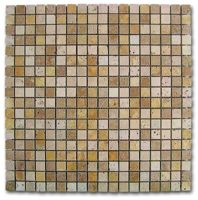 Мозаика (30.5x30.5) 184997 MosaicoTravertinoDados - Emphasis Stone