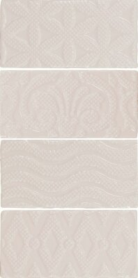 Плитка (7.5x15) 21238 Masia Jewel Cream  EQ-10D - Masia