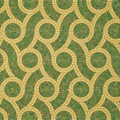 Мозаика (20.5x23) Plait Green - Decori in Tecnica Artistica