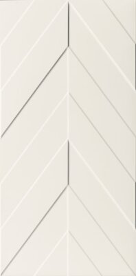 Плитка (40x80) D730 4D.CHEVRON WHITE MATT - 4D