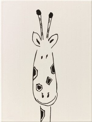 Декор (25x33) y34050001 decor giraffe head mat - Louis & Ella