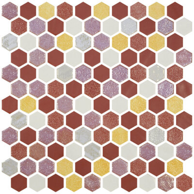 Мозаика (30.1x29) 2003522 HexBlendSun - Hexagon Blends