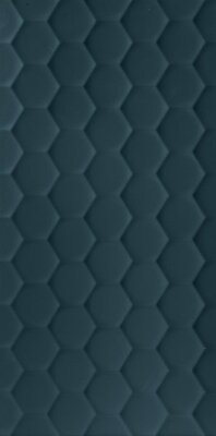 Плитка (40x80) D733 4D.HEXAGON DEEP BLU MATT - 4D