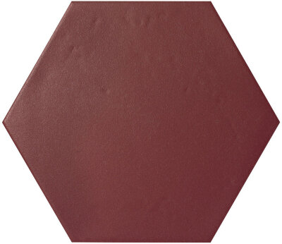 Плитка (17.5x20) KONZEPT HEXAGON TERRA BORDEAUX - Konzept Le Crete Color Mood
