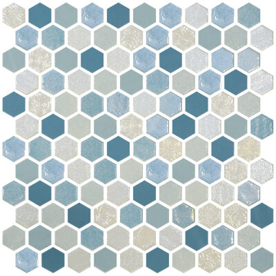 Мозаика (30.1x29) 2003524 HexBlendSeagreen - Hexagon Blends