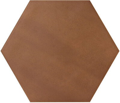 Плитка (17.5x20) KONZEPT HEXAGON TERRA COTTA - Konzept Le Crete Color Mood