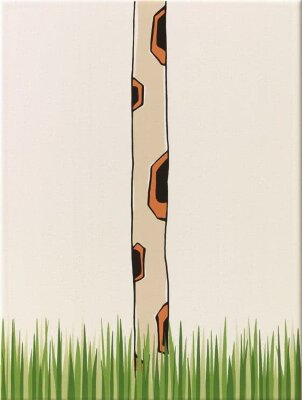 Декор (25x33) y34058001 decor giraffe neck/grass mat - Louis & Ella