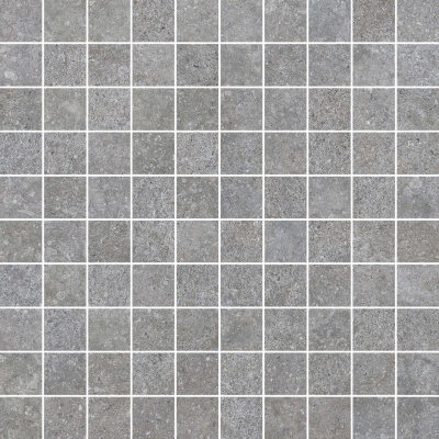 Мозаика (29.9x29.9) 13826- MosaicoSuRete3,1*3,1Grey - Shellstone