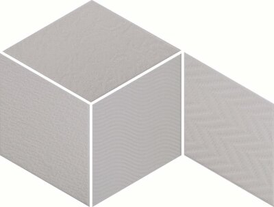 Плитка (14x24) 21290 Rhombus Light Grey - Rhombus