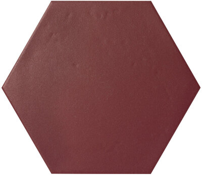 Плитка (39x45) KONZEPT HEXAGON TERRA BORDEAUX - Konzept Le Crete Color Mood