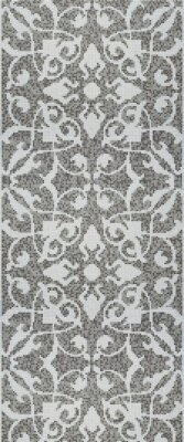 Мозаика (290.5x120.5) Tulips Grey Pattern - Decori in Tecnica Artistica
