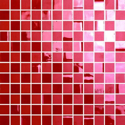 Мозаика (28.6x28.6) 100941 Highlightsrossogeranio2.2x2.2suretefoglio - The Wall