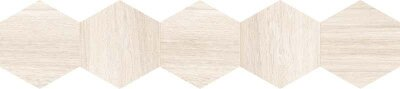 Декор (20x90) 25DH29NT1BF DecNaturalHexagonWhite - Natural