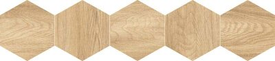 Декор (20x90) 25DH29NT2BF DecNaturalHexagonCream - Natural