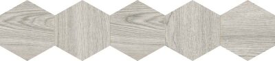 Декор (20x90) 25DH29NT3BF DecNaturalHexagonGrey - Natural