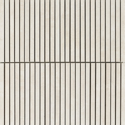Мозаика (30x30) Icon Stripes bone white - Icon