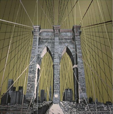 Декор (95.7x96.3) 24142- Decorobrooklynbridge(Set3pz) - The Factory