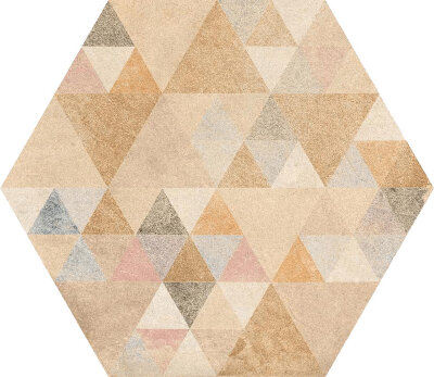 Декор (23x26.6) Hexagono Benenden Multicolor - Laverton