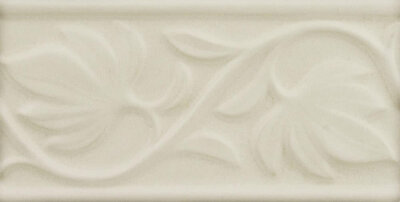 Бордюр (7.5x15) ADNT5033 Relieve Manual Hojas Linene - Nature